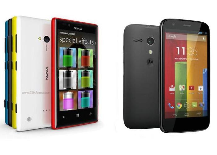 Motorola Moto G vs Nokia Lumia 720
