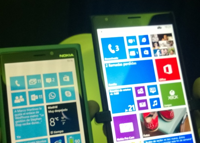 comparación pantalla 1520 contra 920