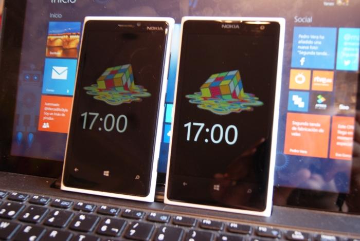nokia lumia 1020 y lumia 920