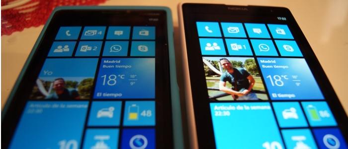 pantalla lumia 1020 con el lumia 920