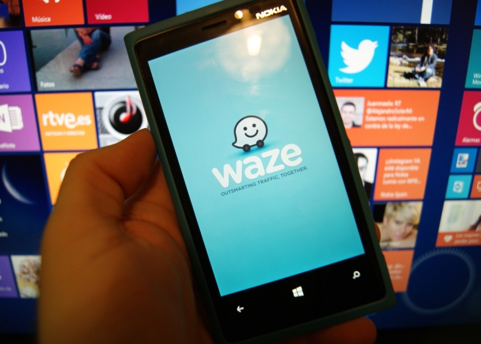 waze windows phone inicio